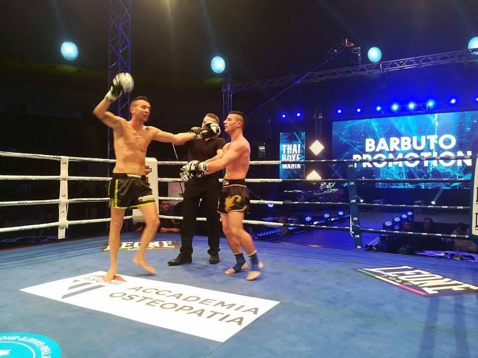 Thai Boxe Mania Ledwall