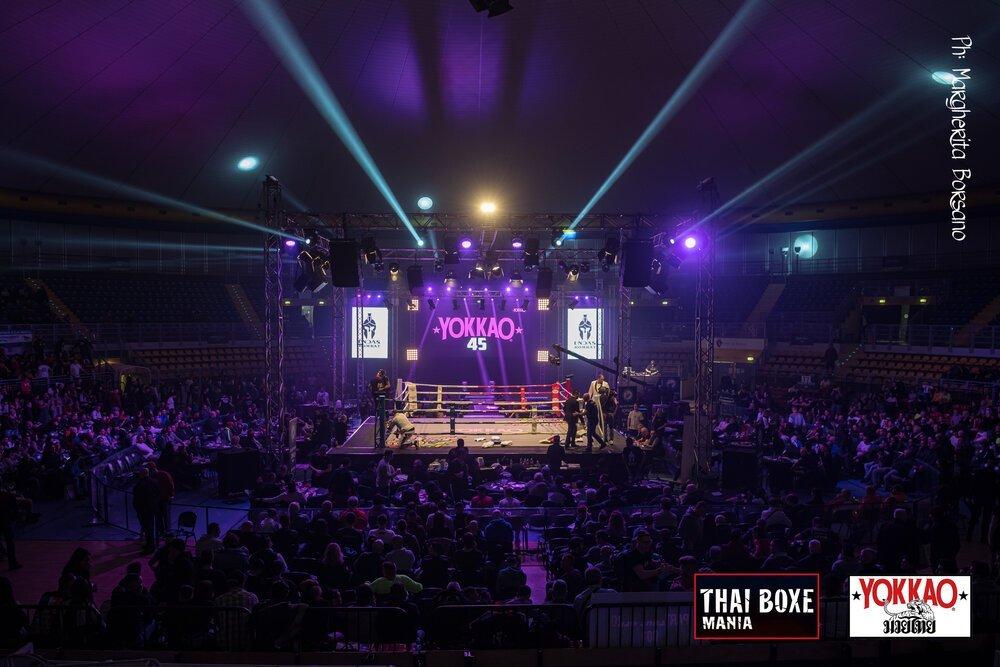 Thai Boxe Mania Evento Sport da Combattimento