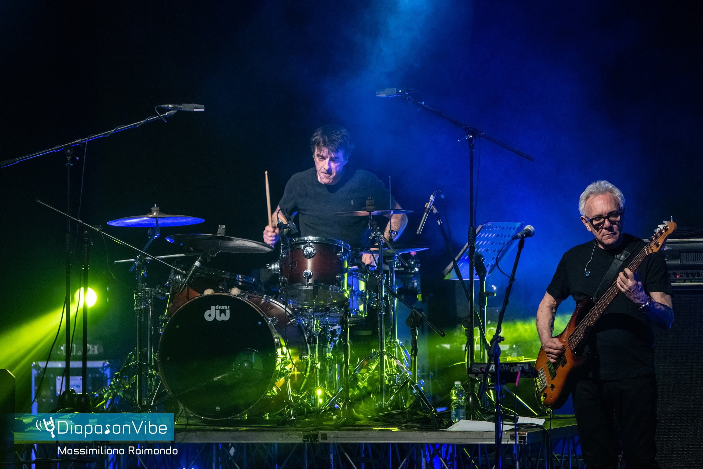 Andy Treacey with DW Drums