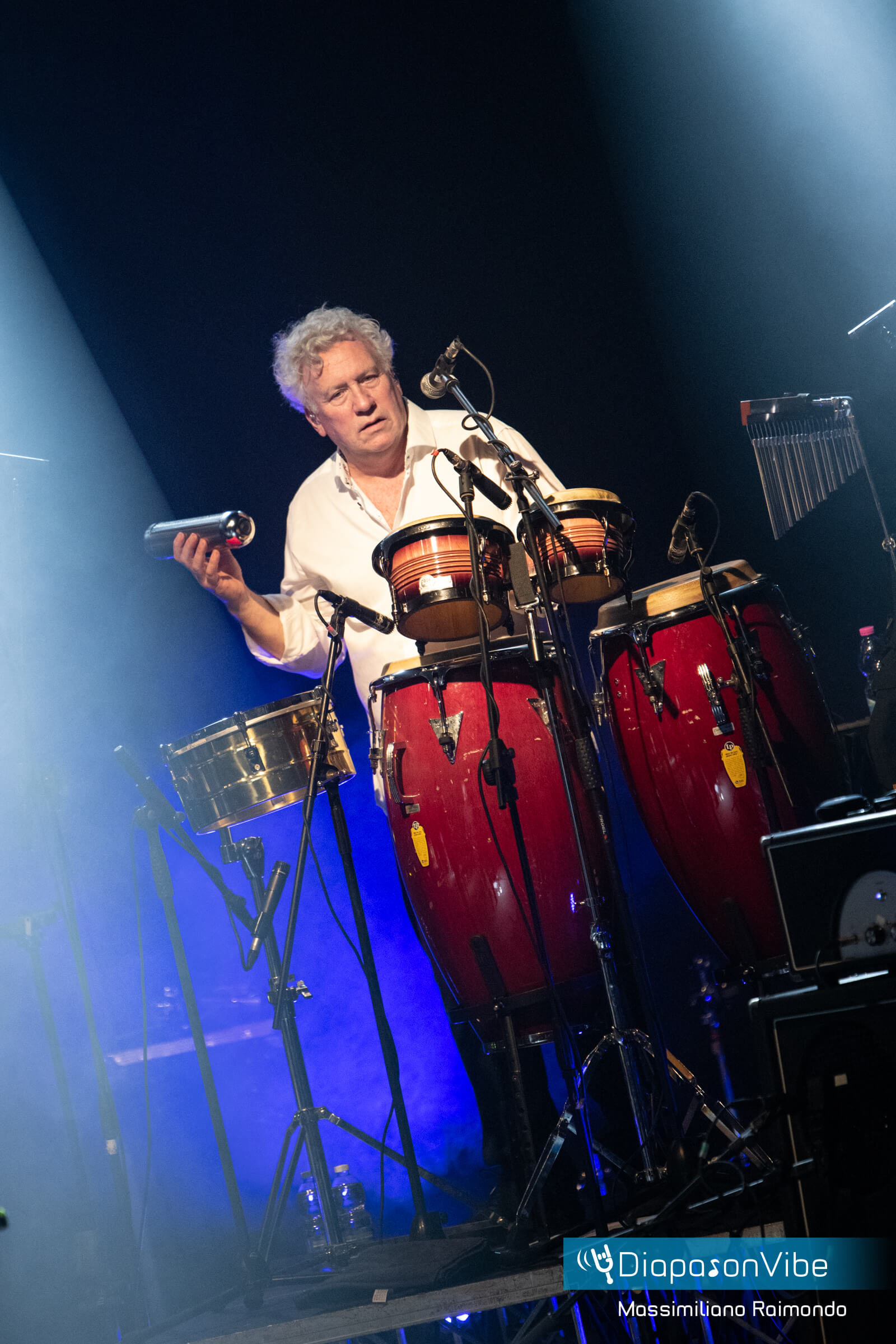 Danny Cummings with LP Percussions